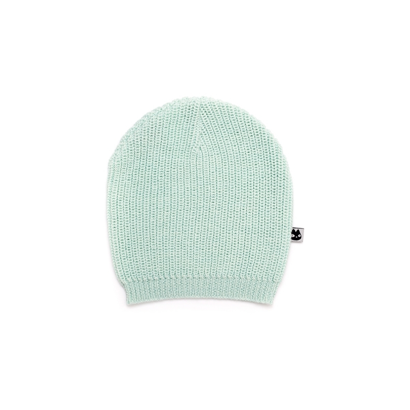 Basic Hat Knitted Blue