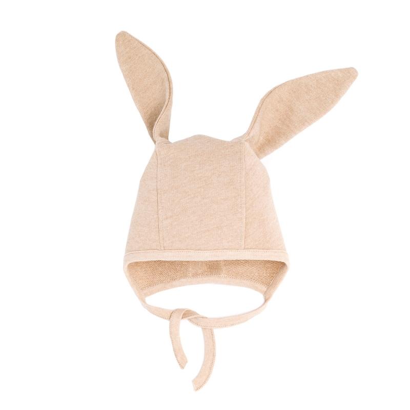 TAN COLOUR BUNNY HAT