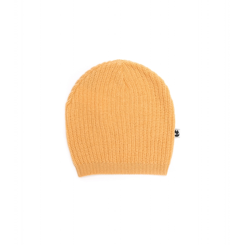 Basic Hat Knitted Apricot