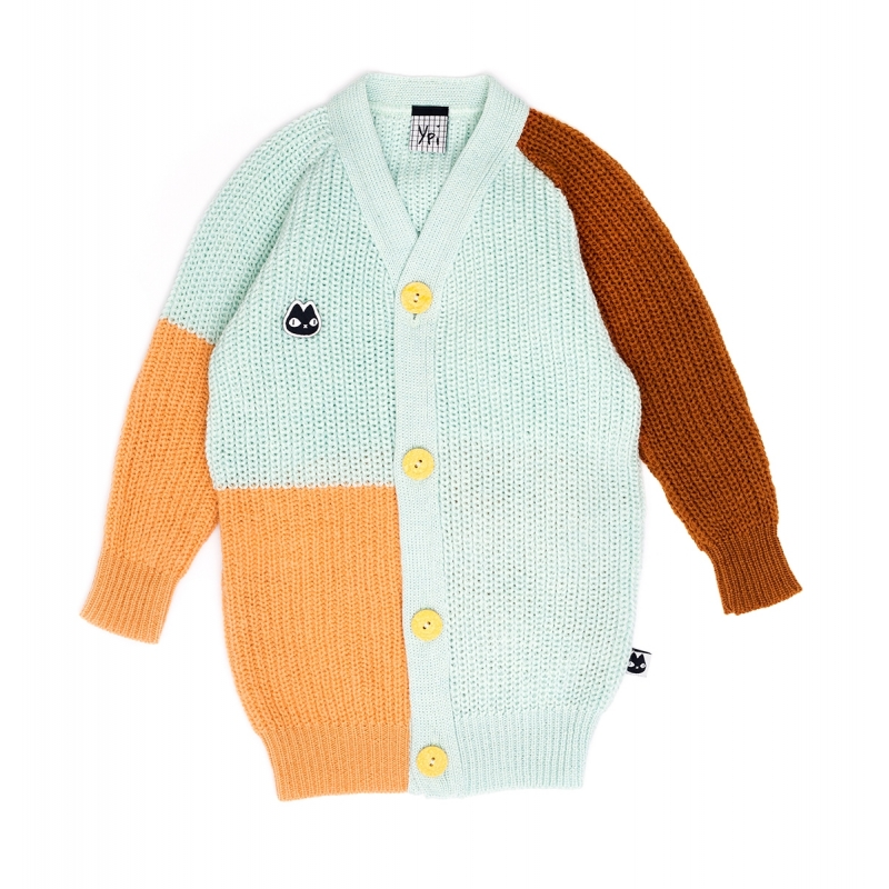 Sweater Merino Wool Tricolor