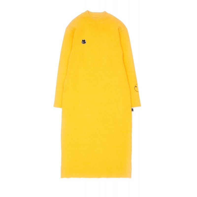 Vestido de canalé Lulu