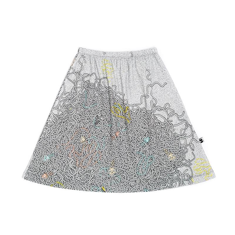 Spaghetti skirt