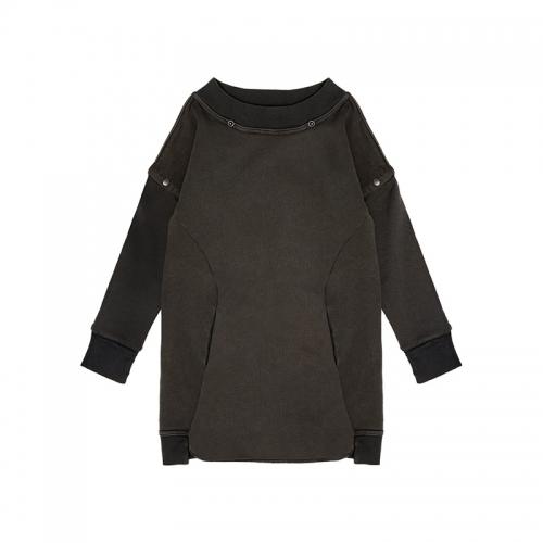 Crocodile Sweatshirt long fleece
