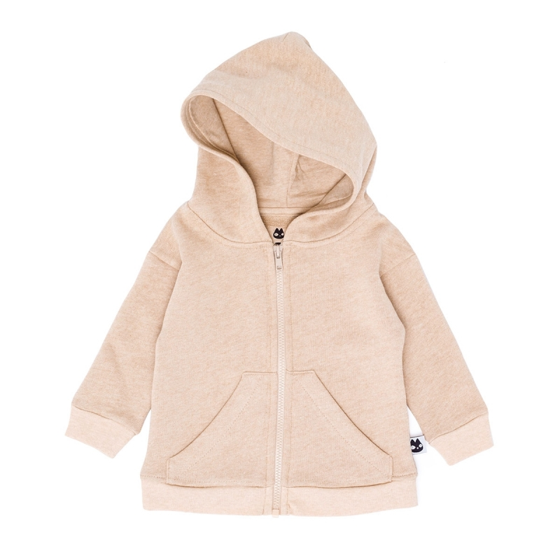 TAN COLOUR HOODIE BABY